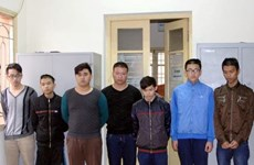 Hà Nội: Tạm giữ nhóm học sinh dùng dao đâm cảnh sát