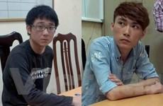 Bắt hai người Đài Loan giả danh công an, lừa đảo qua điện thoại