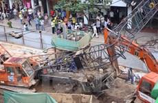 Cấm nhà thầu làm rơi cừ lasen thi công dự án của Hà Nội 1 năm