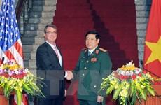 Hợp tác quốc phòng Việt Nam-Hoa Kỳ đang đạt nội dung thực chất