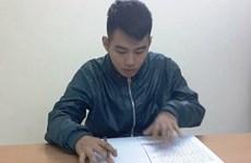 Hà Nội: Bắt đối tượng dùng dao để cướp xe ôm trên phố