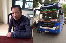 Bắt đối tượng trộm xe giường nằm 3 tỷ lái lên Hà Nội… chơi