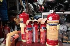 Cần đào tạo kỹ năng sử dụng thiết bị chữa cháy cho người lái ôtô