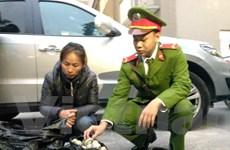 Hà Nội: Bắt giữ đối tượng vận chuyển 750 quả pháo nổ đi tiêu thụ