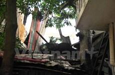 Khốn khổ vì đợi BIDV Hà Thành đền bù sau vụ bê tông rơi vào nhà dân