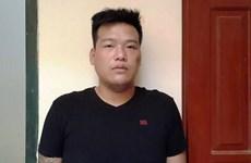 Hà Nội: Ngáo đá, nam thanh niên cắn cảnh sát khu vực ở đường Láng