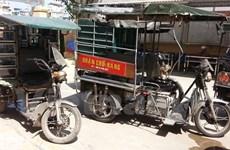 Hà Nội: Trộm cả xe... ba bánh tự chế để bán lấy tiền ăn chơi