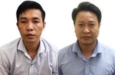 Khởi tố, bắt tạm giam 2 đối tượng trong vụ gian lận thi tại Hoà Bình