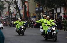 Nhiều phương án dẫn đoàn bảo đảm an toàn tuyệt đối cho các nguyên thủ