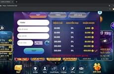 Lại xuất hiện thêm một game cờ bạc trá hình trên Internet