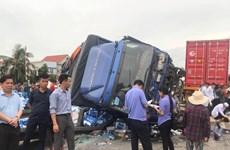 Xác định danh tính các nạn nhân vụ tai nạn thương tâm ở Hải Dương