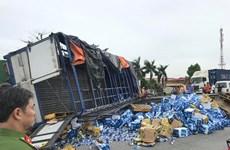 Vụ tai nạn ở Hải Dương: Tái xế xe tải khai do 'phanh không ăn'