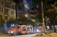 Hà Nội: Cháy lớn trong đêm ở khu đô thị Xa La, Hà Đông