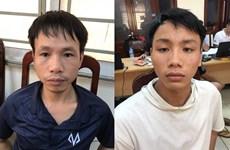 Xác định hai nghi phạm trong vụ bắn pháo sáng trên sân Hàng Đẫy