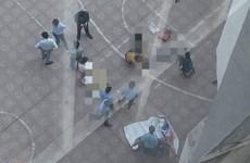 Hà Nội: Hai người thương vong trong vụ nam sinh rơi từ nhà cao tầng