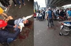 Hà Nội: Nghi mâu thuẫn gia đình, một phụ nữ bị chém thương nặng