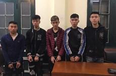 Hà Nội: Truy bắt nhanh ổ nhóm dùng dao kiếm để cướp trong đêm