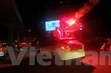 Hà Nội: Bắt giữ 7 đối tượng đốt pháo sáng trong đêm