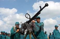Dân quân tự vệ có vai trò nòng cốt trong nền Quốc phòng toàn dân