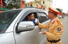 Vi phạm nồng độ cồn, hơn 17.000 lái xe bị phạt 53,155 tỷ đồng