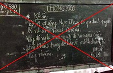 Hà Nội: Lập biên bản người viết tin 4 người nhiễm nCoV