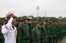 Hơn 2.300 thanh niên Hà Nội viết đơn tình nguyện nhập ngũ