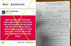Hà Nội: Sẽ khởi tố hình sự người tung tin giả về COVID-19