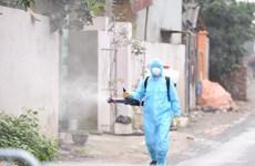 Hà Nội giao Bộ Tư lệnh Thủ đô khử khuẩn toàn bộ Hạ Lôi