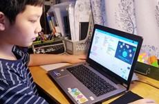 """Hà Nội: Bé lớp 5 tự thiết kế trò chơi """"Đánh bay COVID-19"""""""