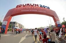 Giải chạy từ thiện Edurun 2015 thu hút hơn 7.000 người tham gia