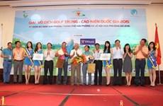VGA và TPBank trao giải vô địch golf trung - cao niên năm 2015