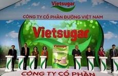 Hình ảnh Vinamilk chính thức bước chân vào ngành mía đường