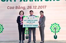 Hành trình về nguồn của Vinamilk và Quỹ 1 triệu cây xanh tại Cao Bằng