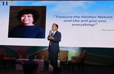 Bà Thái Hương đạt giải lãnh đạo doanh nghiệp có trách nhiệm xã hội