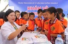 """Quỹ sữa """"Vươn cao Việt Nam"""" mang trung thu đến với trẻ em Vĩnh Phúc"""