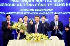 Vietnam Airlines và Vingroup ký thỏa thuận hợp tác về du lịch