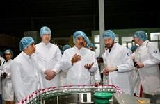 Đoàn công tác của Đại sứ quán Mỹ tới thăm nhà máy sữa Vinamilk