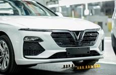 Dàn xe Vinfast đầu tiên được đưa ra nước ngoài kiểm thử chất lượng