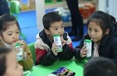 Sữa học đường: Số lượng phụ huynh đăng ký ngày càng tăng
