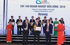 Amway Việt Nam phát triển kinh doanh cùng trách nhiệm xã hội