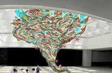 Triển lãm 'Hành tinh nhựa' truyền thông điệp sử dụng đồ nhựa có ý thức