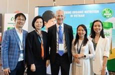 Vinamilk đại diện Châu Á trình bày về xu hướng sữa organic