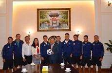 Đại sứ Việt Nam tại Nga chúc mừng chiến công của CLB Hà Nội