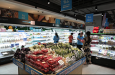 Sữa chua Vinamilk đã có mặt tại siêu thị thông minh Hema