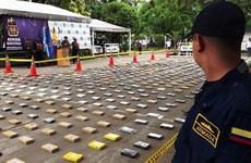 Triệt phá đường dây buôn lậu vận chuyển 1 tấn cocaine