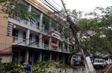 Các tỉnh chủ động khắc phục thiệt hại do bão số 14