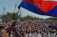 Chính phủ Campuchia cảnh báo hành vi của đảng CNRP