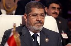 Ai Cập bắt đầu xử cựu Tổng thống Mohamed Morsi