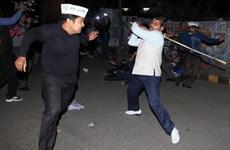 Cảnh sát Ấn Độ bắt 14 người gây bạo loạn ở thủ đô