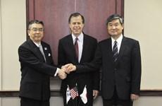 Mỹ, Nhật, Hàn đàm phán quốc phòng vào giữa tháng Tư
